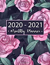 "Monthly Planner 2020-2021: Two Year Planner:  24-Month Planner & Calendar Size: 8.5"" x 11"" ( Jan 2020 - Dec 2021) Two Year..."