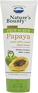 Nature's Bounty Venos Face Scrub Papaya, 200 ml