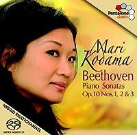 Piano Sonatas Op 10 Nos 1 2 & 3 by LUDWIG VAN BEETHOVEN (2011-03-29)