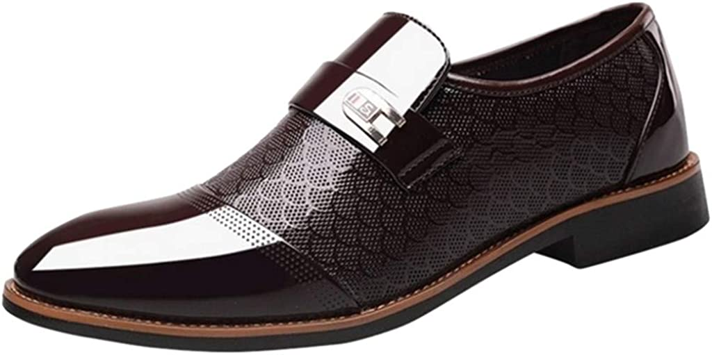 Men's Oxford Shoes Leather Business Dress Formal Loafers - Limsea