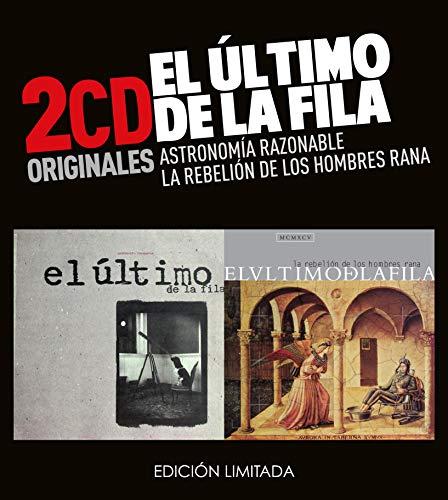 El Ultimo De La Fila -Astronomia Razonable / La Rebelión De Los Hombres Rana (2 CD)