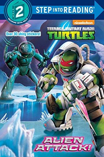 ninja turtle book level 1 - 4