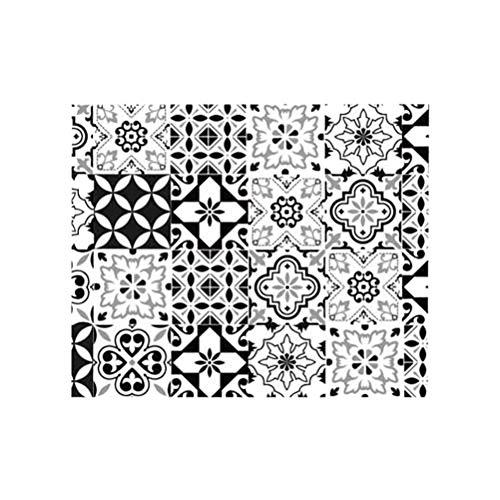 Rétro Rouleau Sticker Carreaux de Ciment 45 x 150 cm