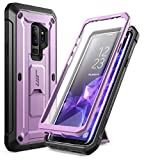 SUPCASE Kickstand Rugged Case for Galaxy S9 Plus, with Built-in Screen Protector Shockproof Cover for Samsung Galaxy S9 Plus 6.2 inch 2018 Release (Purple)