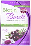 Neocell Neocell Laboratories Biotin Bursts Chewable Acai Berry, High Potency, 30 Count (Pack of 2)