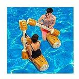 LWPCP 4 unids/Set Joust Pool Float Juego Inflable Deportes Acuáticos Bumper Juguetes para Adultos Niños Partido Gladiador Balsa Piscina