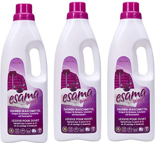 Esama wash 3x1L Daunen-Waschmittel