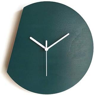 28cm Piccolo orologio da parete silenzioso per salotto colorato come verde petrolio Particolari orologi a muro con meccani...