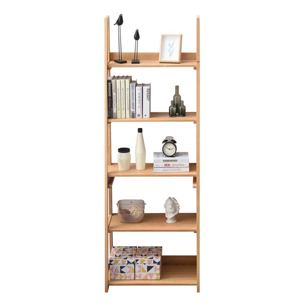 AFCITY Estantería Escalera Decorativa Librería 5-Shelf Escalera Librero Inclinada PORTAESCALERAS Estante de Almacenamiento Estante de Almacenamiento (Color : Amarillo, tamaño : 185x64x38cm): Amazon.es: Hogar