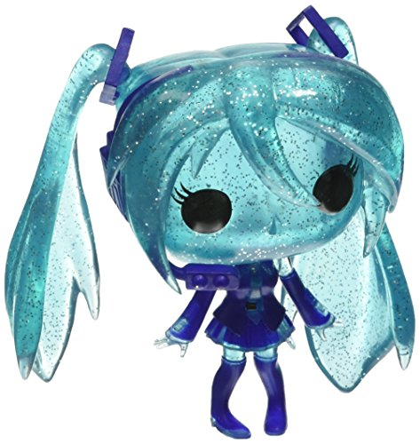 Funko - Figurine Vocaloid - Hatsune Miku Crystal Edition Exclu Pop 10cm - 0849803092757
