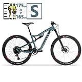 QMMD Adulto Bicicleta Montaña 29 Pulgadas, Bicicleta Doble Suspensión, 12 Velocidades Cuadro Aluminio Bicicleta BTT, Hombres/Mujeres Profesional Bicicleta de Montaña,29 Inch s,12 Speed