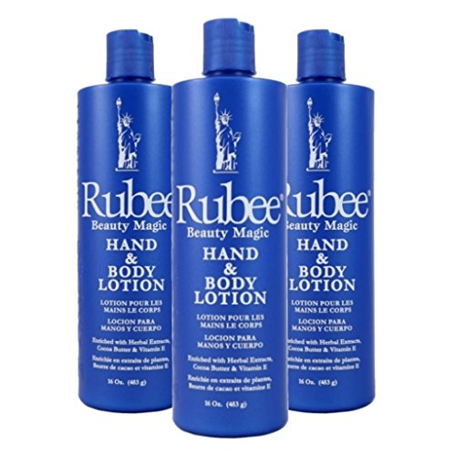 Rubee Hand & Body Lotion 475 ml (3-Pack) by Rubee