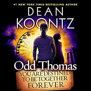 Odd Thomas audiobook cover art