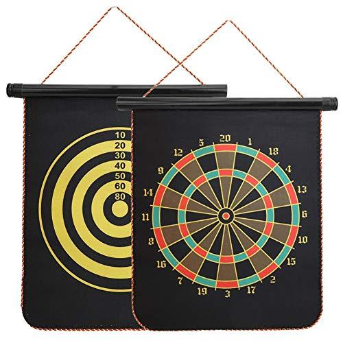 Alomejor Magnetyczna tarcza do darta dwustronna do gry w bula, bezpieczna tarcza do darta (15)