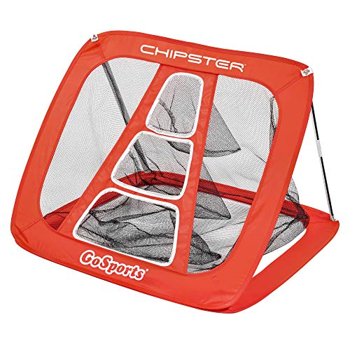GoSports Chipster Golf Chipping Pop Up Practice Net - Indoor Outdoor Short Game Training