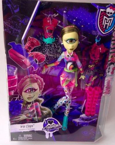 Monster High Iris Clops I Love Heart Fashion Doll