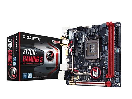 Gigabyte LGA1151 Intel Z170 Mini-ITX DDR4 Motherboards GA-Z170N-Gaming 5 (Certified Refurbished)