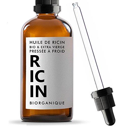 Huile de Ricin 100% Bio, Pure et Naturelle - 50 ml -...