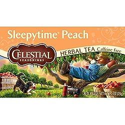 20Tea Bags slee Pytime Peach by Celestial Seasonings, Tee