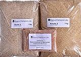 Komplettpaket Räuchermehl je 1kg Buche und Kirsche Typ 3 mit Fertigmischung für Pökellauge ungarische Art