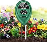 JulyPanny Soil pH Meter, Soil Moisture/Light/pH Tester Gardening Tool Kits for...
