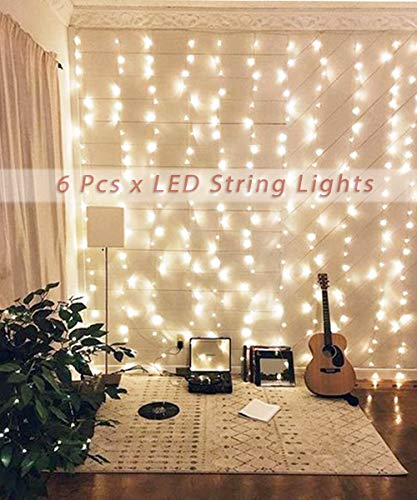 SUPBEC 6 Pcs Battery Operated Fairy String Lights-10ft/3m 30 LEDs Mini Bulb, Super Bright Starry...