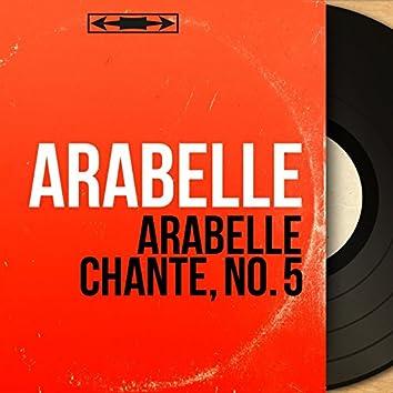 Arabelle chante, no. 5 (feat. Fred Ermelin et son orchestre) [Mono Version]