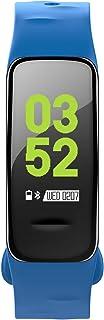 Fitness Tracker Pulsera BT Pulsómetro Monitor De Sueño IP67 Impermeable Sport Podómetro Contador De Paso para Android O iOS Smartphones