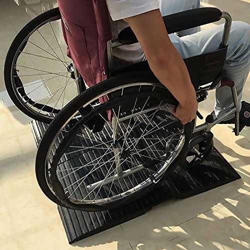 Rampas Rampa Rampa del puente por Silla de ruedas, Tarea pesada Rampas de goma por Cortacésped Sillas de ruedas Scooter, Las personas de edad Silla para discapacitados Rampas para discapacitados