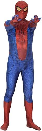 primera vez respuesta SEJNGF Extraordinario Spider-Man Spider-Man Spider-Man Print Medias Siamesas Disfraz De Cosplay para Adultos De Halloween (Las Cubiertas De La Cabeza Se Pueden Separar),rojo-L  promociones emocionantes