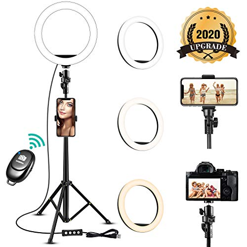 Take 21% off a selfie ring light with tripod stand