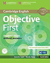 Permalink to Objective First Student's Book without Answers with CD-ROM [Lingua inglese] PDF