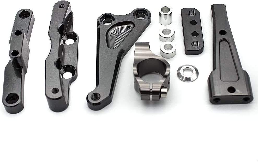 YLHAPPY CNC trend Many popular brands rank Motorcycle Stabilizer Brack Steering Mounting Damper