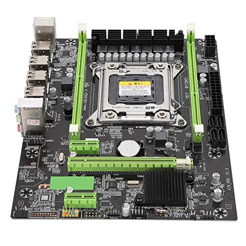 X79PRO Computer Moederbord met Geïntegreerde 6-Kanaals Audio Chip PC Vervangende Onderdelen Ondersteuning RTL8111H Gigabit netqork-kaart, RECC-servergeheugen