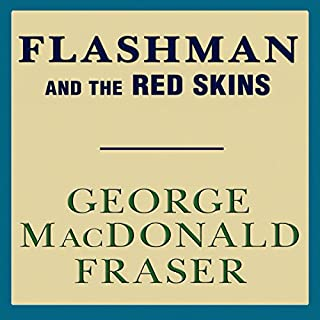 Flashman and the Redskins audiobook cover art