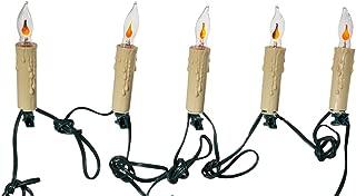 Kurt Adler 7-Light Flicker Flame Candle Light Set