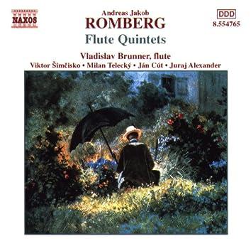 Romberg: Flute Quintets, Op. 41, Nos. 1- 3