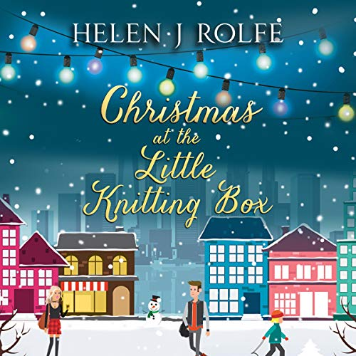 Christmas at the Little Knitting Box audiobook cover art