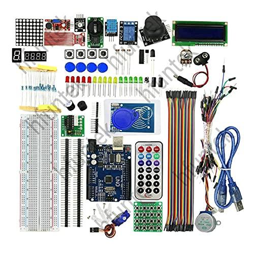 AllRight Komplettes Ultimate Starter Kit Microcontroller und Eine Breite Palette an Zubehör Starter Kit für Verbesserte Version RFID-Türzugangskontrollsystem-Kit für RFID Kit RC522