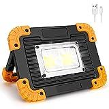 Coquimbo Focos LED Recargable Exterior, Luz Camping 10W 4 Modos Portátil Luz de Trabajo Impermeable Para Reparación de...