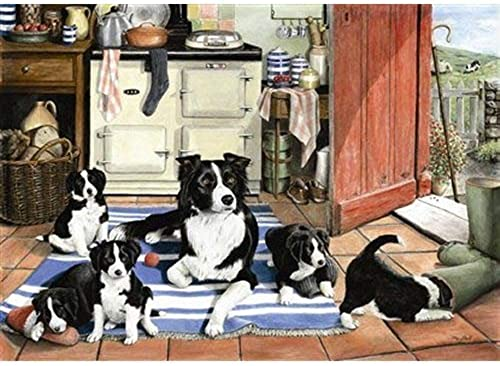 1000 Piece DeLuxe Jigsaw Puzzle - Working Mum by The House of Puzzles