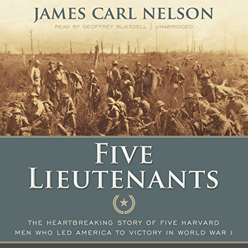 Five Lieutenants audiobook cover art