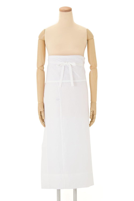 裾よけ あづま姿 白 ホワイト レース付 ひんやり さらし 補正 すそよけ 裾除け 肌着 着付け小物 和装下着 和装小物 夏向き 日本製 M L