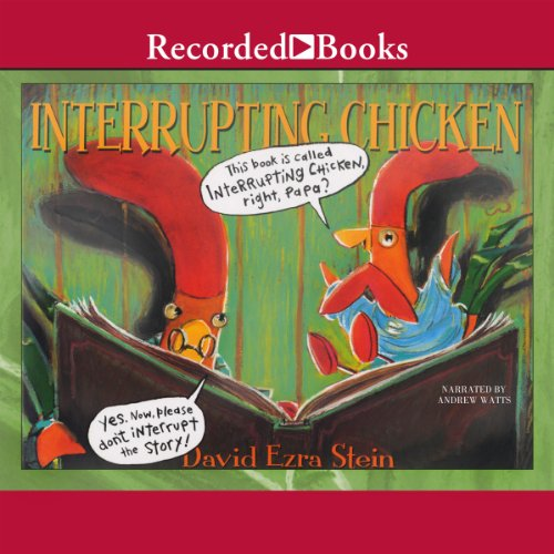 Interrupting Chicken audiobook cover art