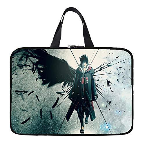 Laptop Sleeve Case Protective Bag with Outside Handle, Ultrabook Notebook Carrying Case Handbag for 14' 15' Lenovo Dell Toshiba HP Acer-Sasuke_17-inch