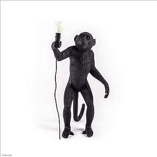 WD-chandelier Statues Resin Lamp Monkey Lamp-Outdoor 46X27.5 H.54 cm - On Feet -selettl