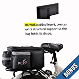 Kolo Sports Bike Pannier Bag | Durable & Waterproof Nylon with Extra Padded Foam Bottom &...