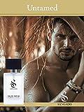 SANGADO Sin Domar Perfume para Hombres, Larga Duración de 8-10 horas, Olor Lujoso, Aromática...