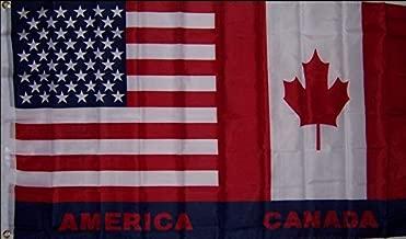 Flag USA/Canada 3X5 Polyester (97) `