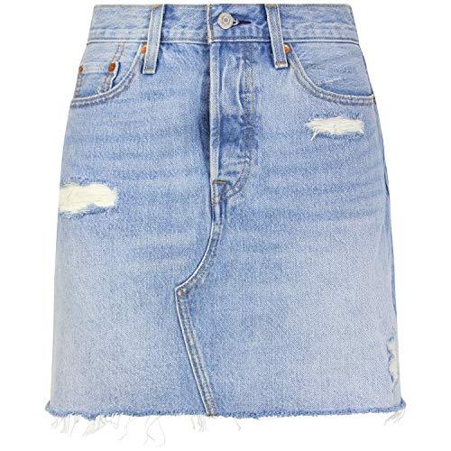 LEVI'S jupe femme 77882-0015 JUPE DÉCONSTRUÉE TAILLE HAUTE 24 Jeans